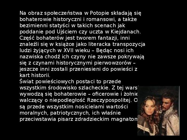"""""""Potop"""" Henryk Sienkiewicz - Slajd 7"""