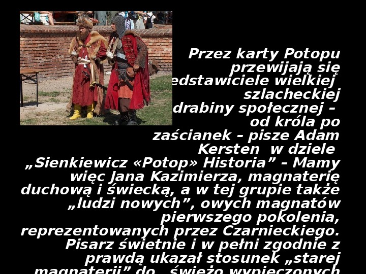 """""""Potop"""" Henryk Sienkiewicz - Slajd 9"""