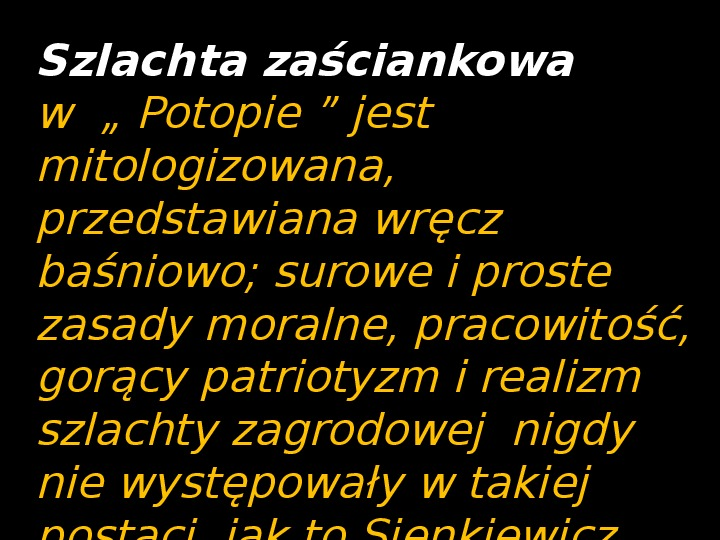 """""""Potop"""" Henryk Sienkiewicz - Slajd 18"""