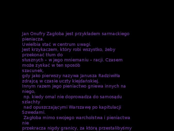 """""""Potop"""" Henryk Sienkiewicz - Slajd 25"""