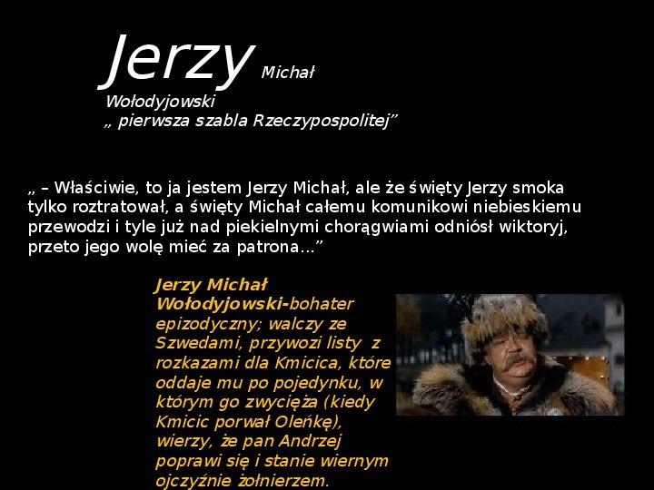 """""""Potop"""" Henryk Sienkiewicz - Slajd 26"""