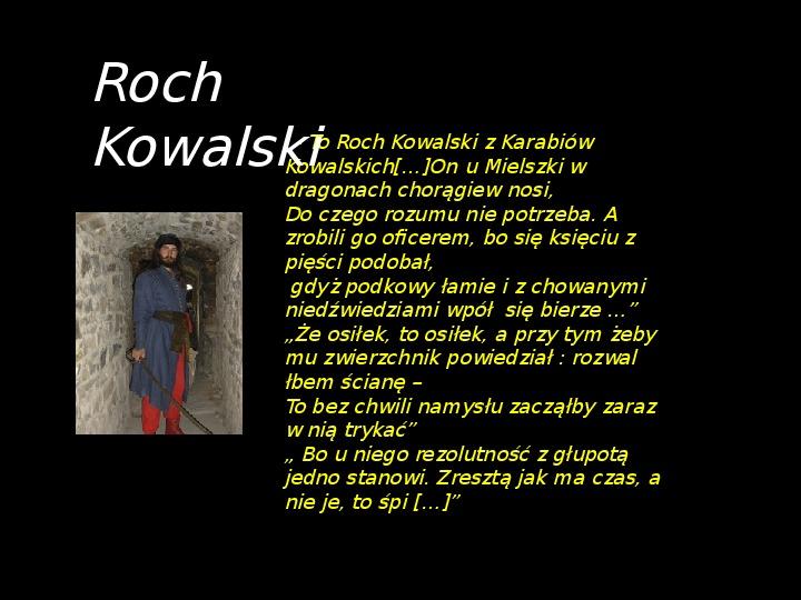 """""""Potop"""" Henryk Sienkiewicz - Slajd 28"""