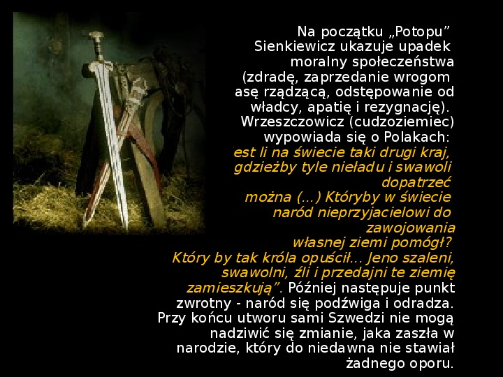 """""""Potop"""" Henryk Sienkiewicz - Slajd 31"""