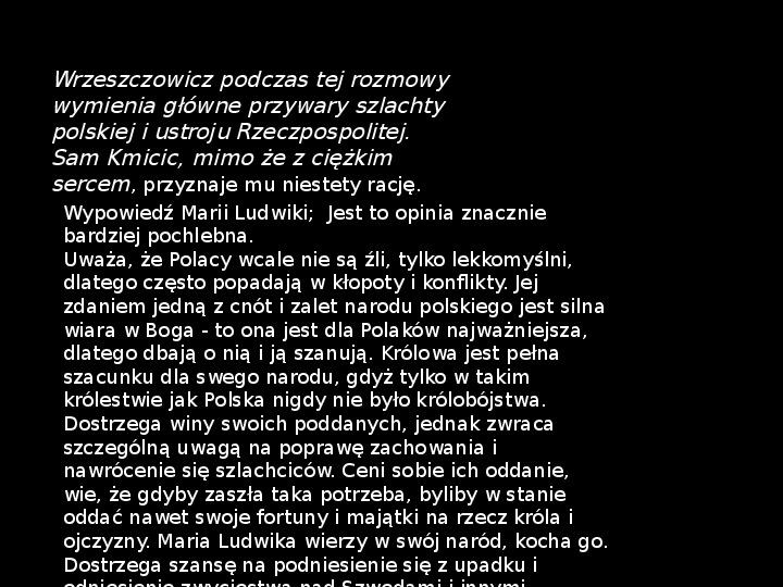 """""""Potop"""" Henryk Sienkiewicz - Slajd 33"""