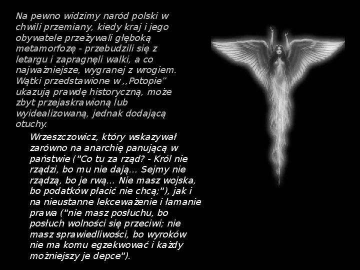 """""""Potop"""" Henryk Sienkiewicz - Slajd 34"""