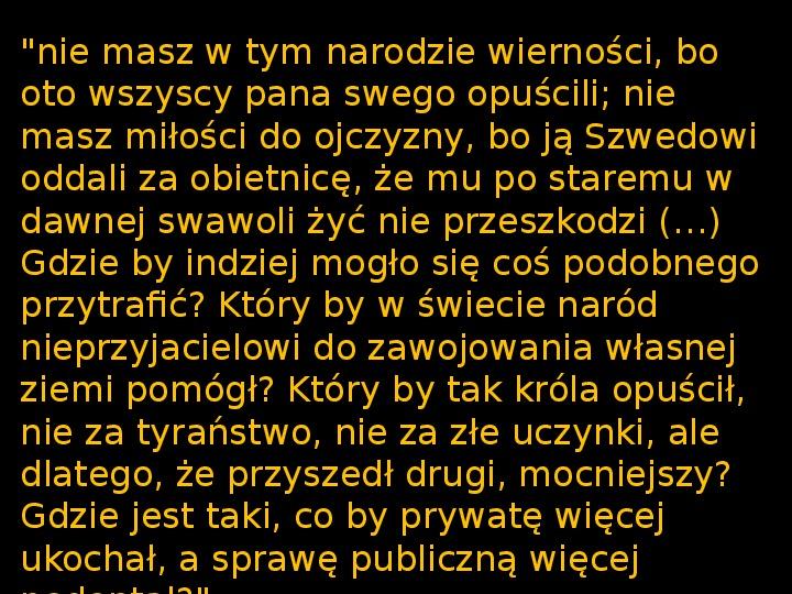 """""""Potop"""" Henryk Sienkiewicz - Slajd 35"""