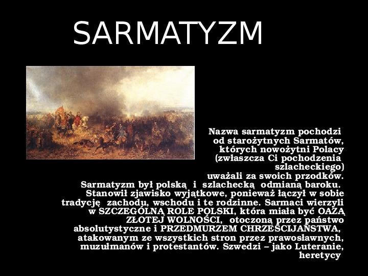 """""""Potop"""" Henryk Sienkiewicz - Slajd 36"""