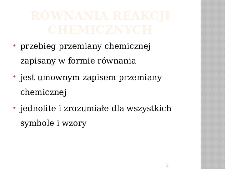 Reakcje Chemiczne - Slajd 2