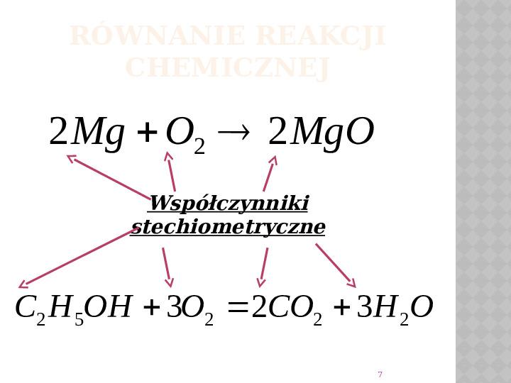 Reakcje Chemiczne - Slajd 6