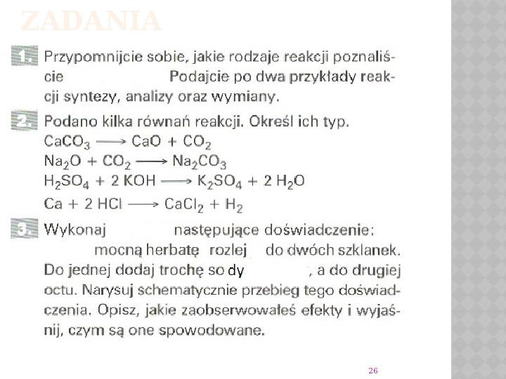 Reakcje Chemiczne - Slajd 25