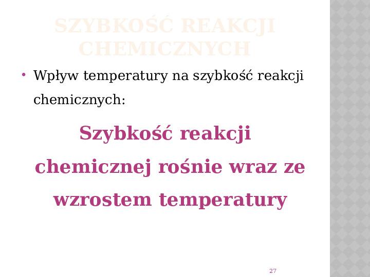 Reakcje Chemiczne - Slajd 26