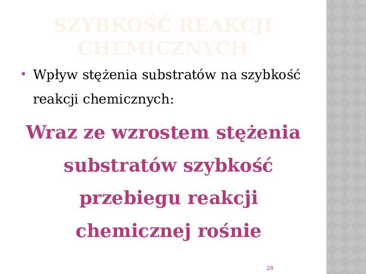 Reakcje Chemiczne - Slajd 27