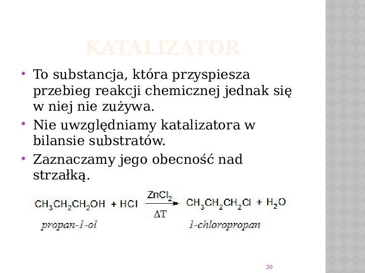 Reakcje Chemiczne - Slajd 29