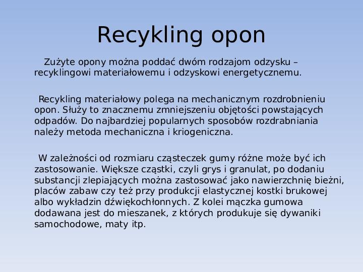 Recykling final - Slajd 23