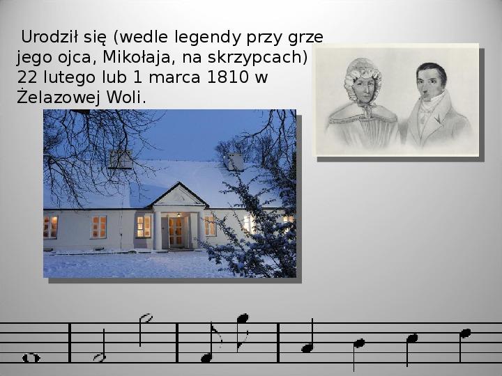 Fryderyk Chopin - Slajd 2