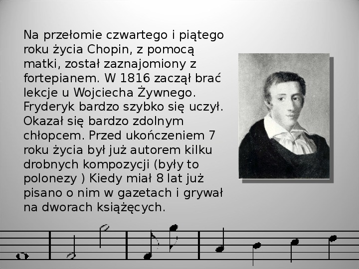Fryderyk Chopin - Slajd 3