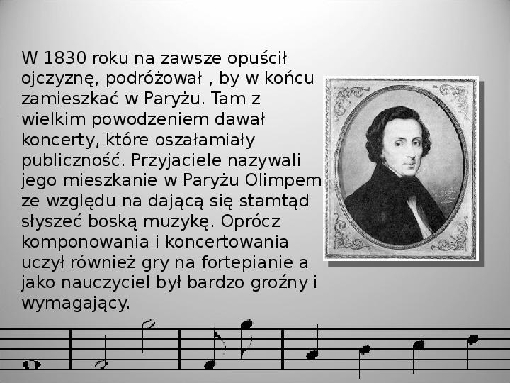 Fryderyk Chopin - Slajd 7