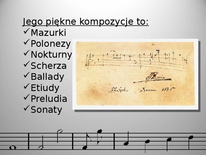 Fryderyk Chopin - Slajd 10