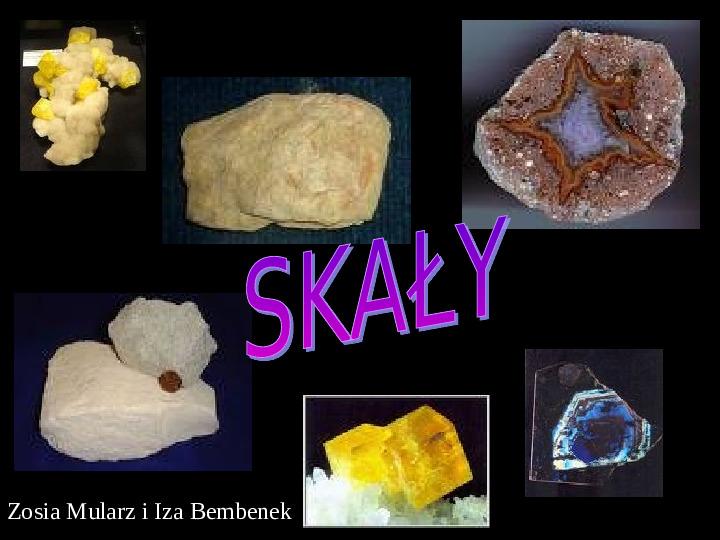 Rodzaje skał - Slajd 1