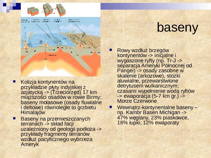 Skały osadowe a tektonika płyt - Slajd 5