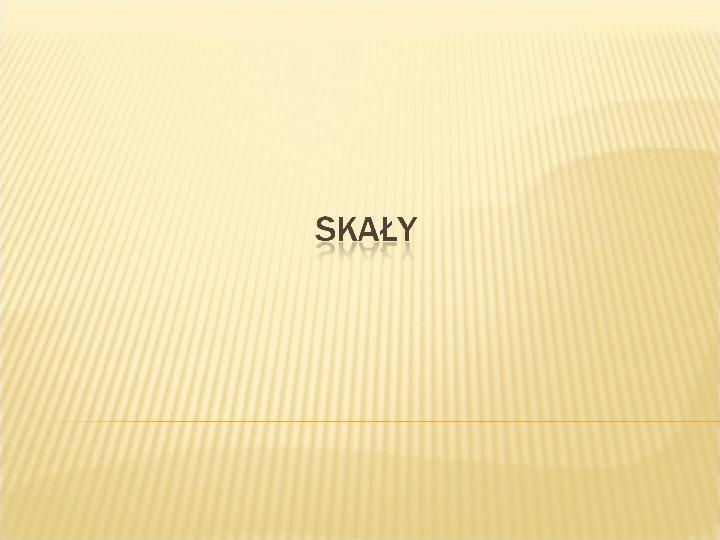 Skały - Slajd 1