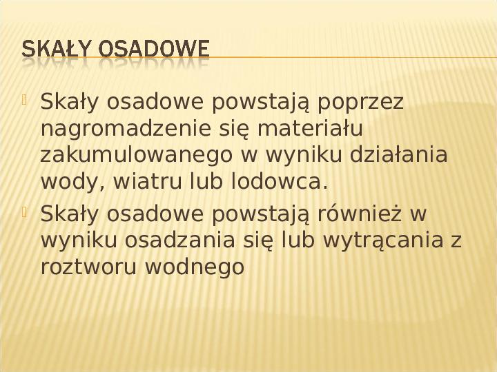 Skały - Slajd 9
