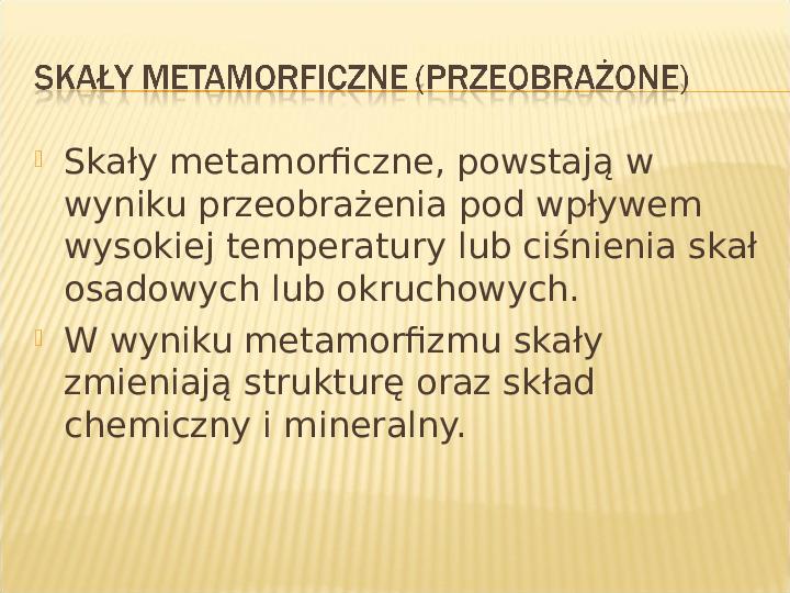 Skały - Slajd 20