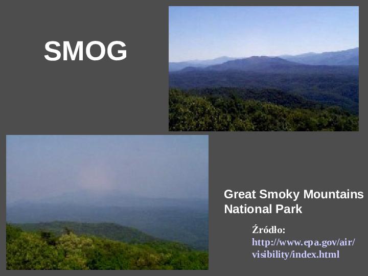 Smog - Slajd 1