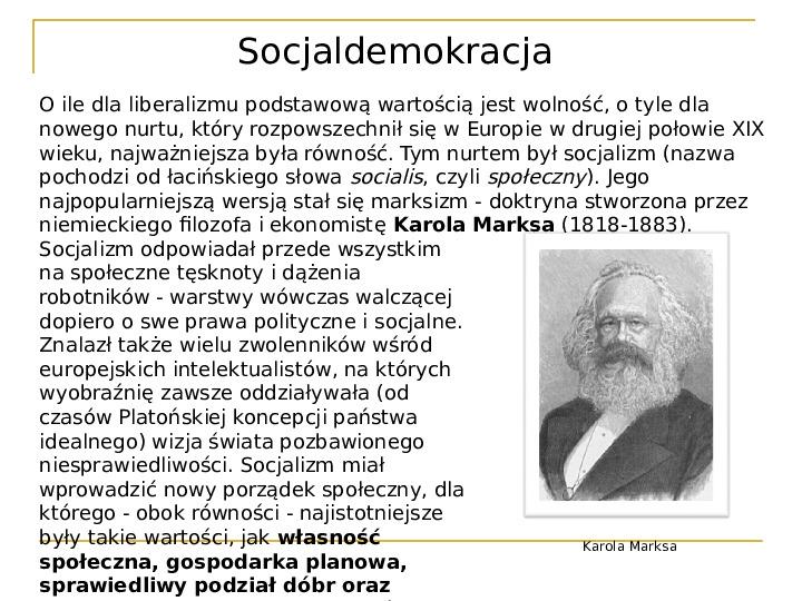 Socjaldemokracja - Slajd 2