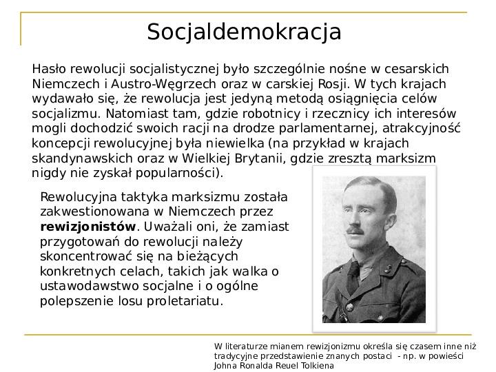 Socjaldemokracja - Slajd 3