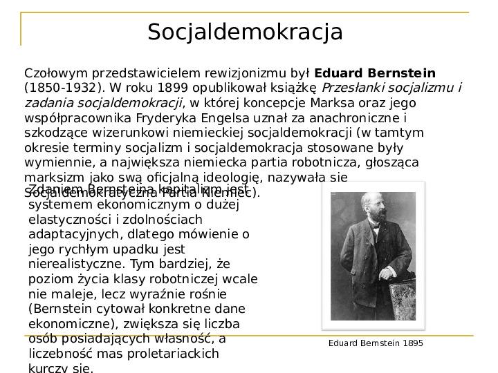 Socjaldemokracja - Slajd 4