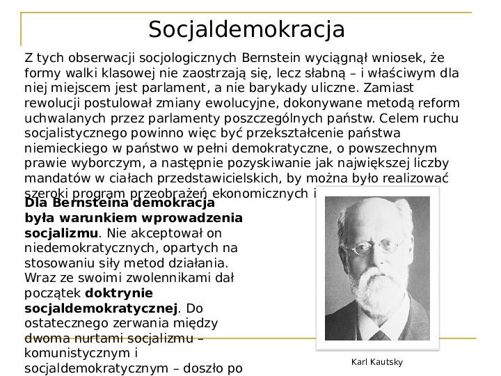 Socjaldemokracja - Slajd 5
