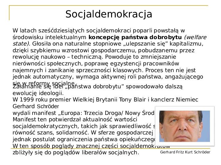 Socjaldemokracja - Slajd 7