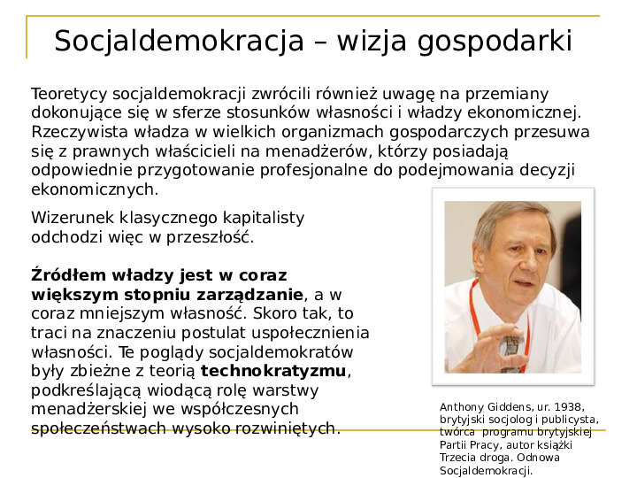 Socjaldemokracja - Slajd 9