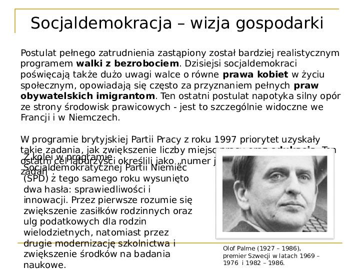 Socjaldemokracja - Slajd 12