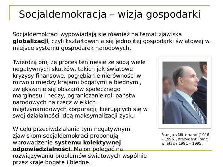 Socjaldemokracja - Slajd 13