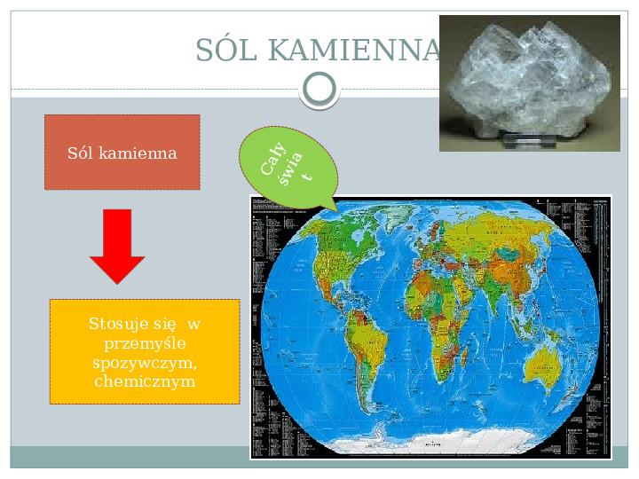 Surowce mineralne Ziemi - Slajd 13