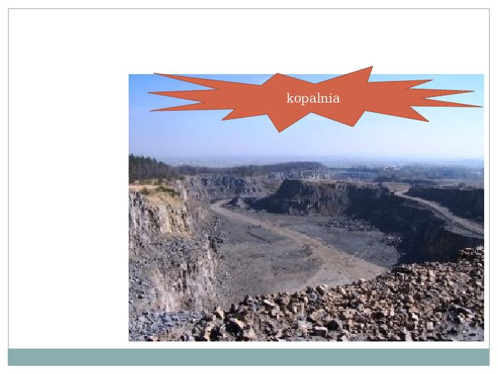 Surowce mineralne Ziemi - Slajd 15