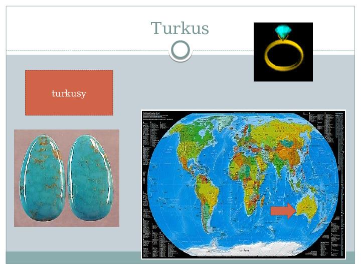 Surowce mineralne Ziemi - Slajd 19