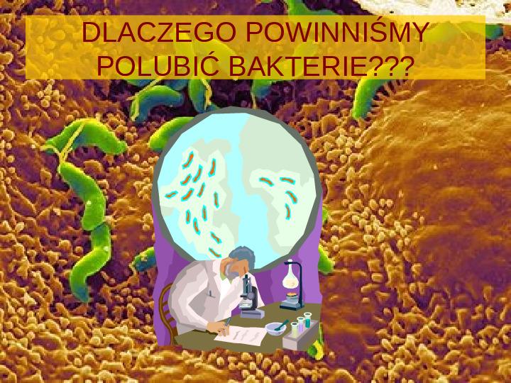 Tajemnice bakterii - Slajd 6