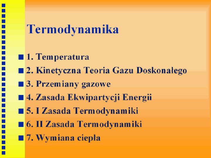 Termodynamika - Slajd 1