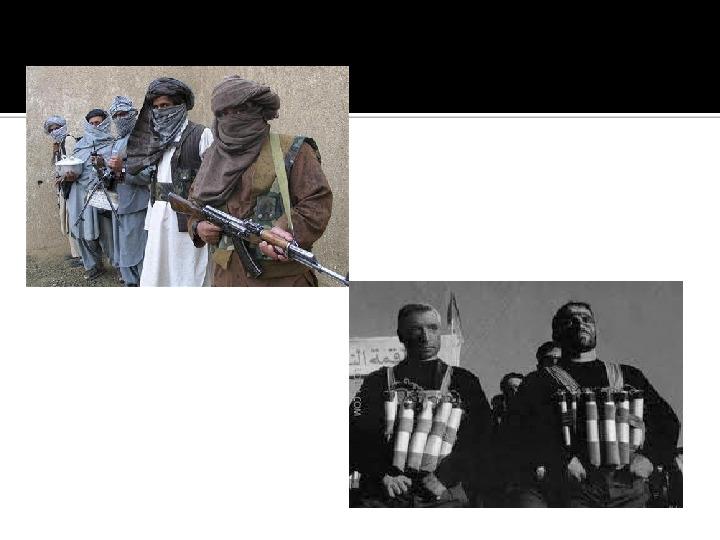 Terroryzm XXI wieku - Slajd 15