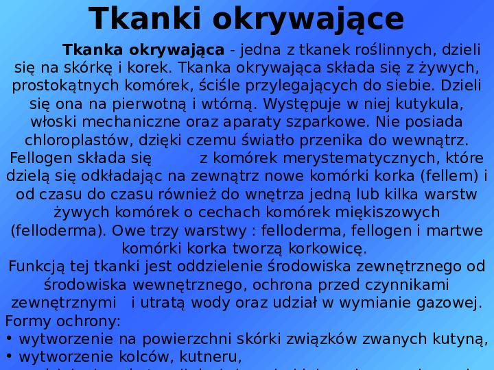 Tkanki - Slajd 10