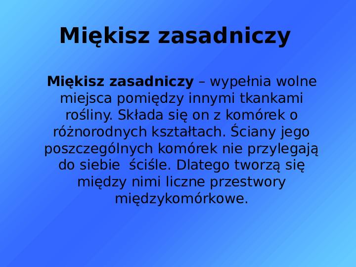 Tkanki - Slajd 20