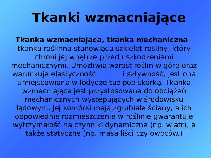 Tkanki - Slajd 29