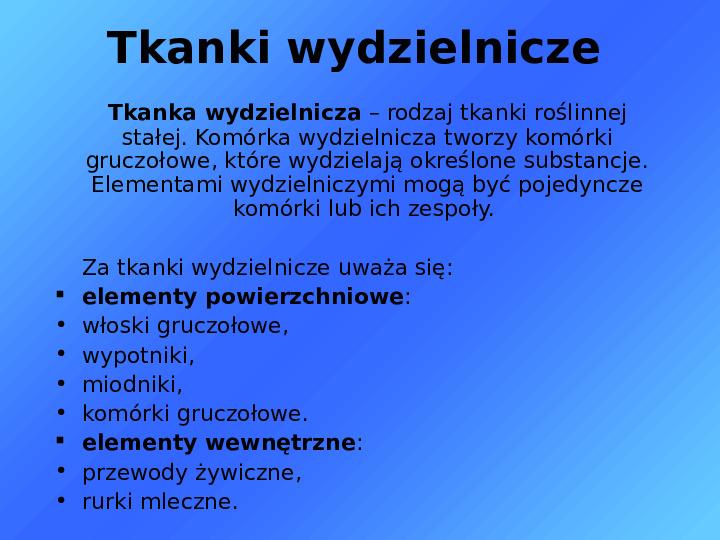 Tkanki - Slajd 34