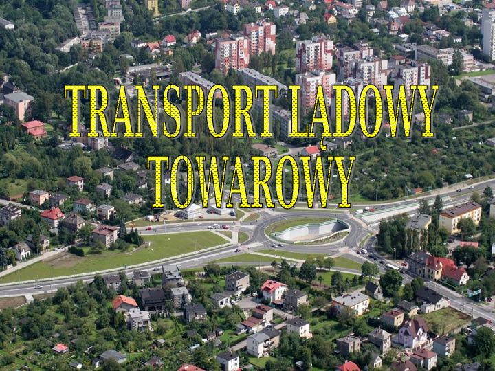 Transporty - lądowy, wodny, powietrzny - Slajd 9