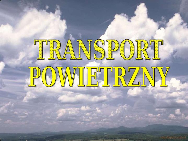 Transporty - lądowy, wodny, powietrzny - Slajd 35