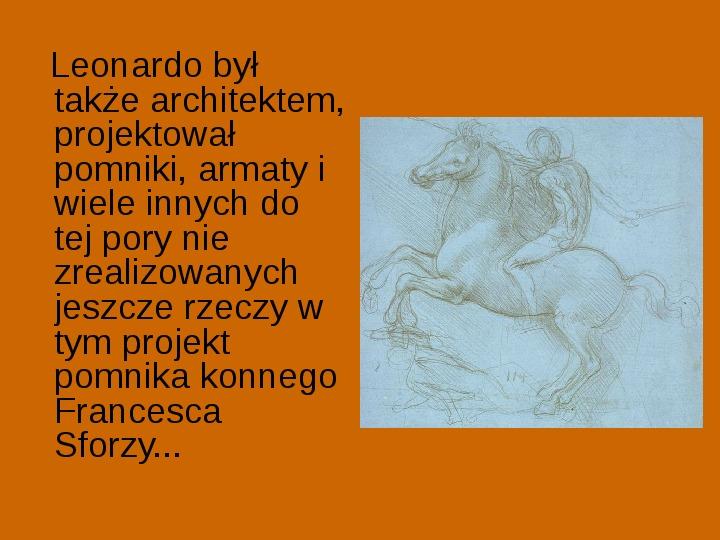 Leonardo Da Vinci - Slajd 9