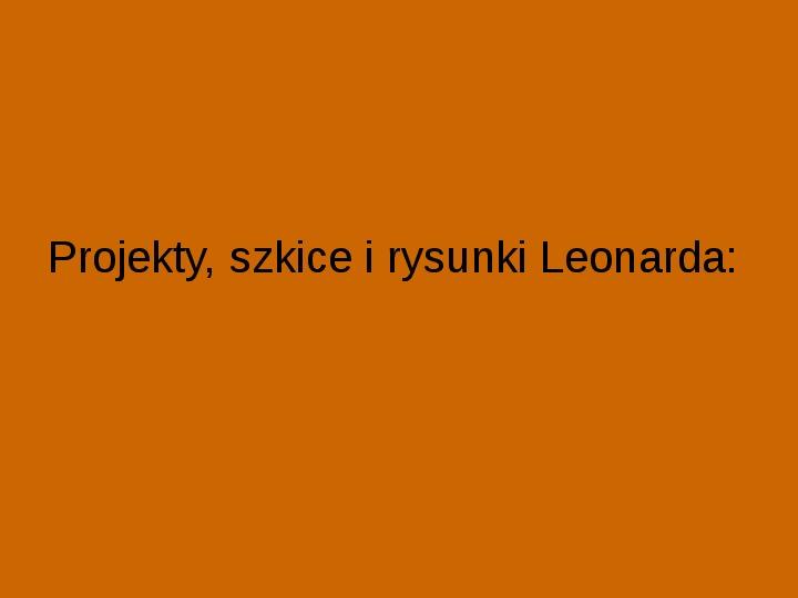 Leonardo Da Vinci - Slajd 12